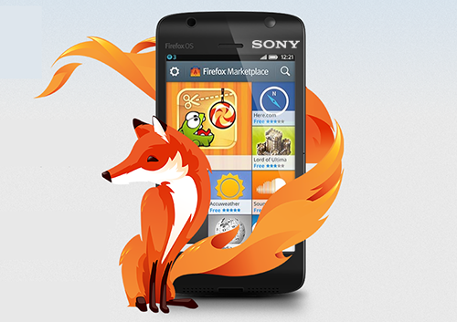 Sony tham gia sản xuất smartphone nền tảng Firefox OS